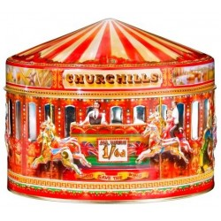"Lata Churchill's Carousel ""Quiéreme si te atreves"", con caramelos ingleses"